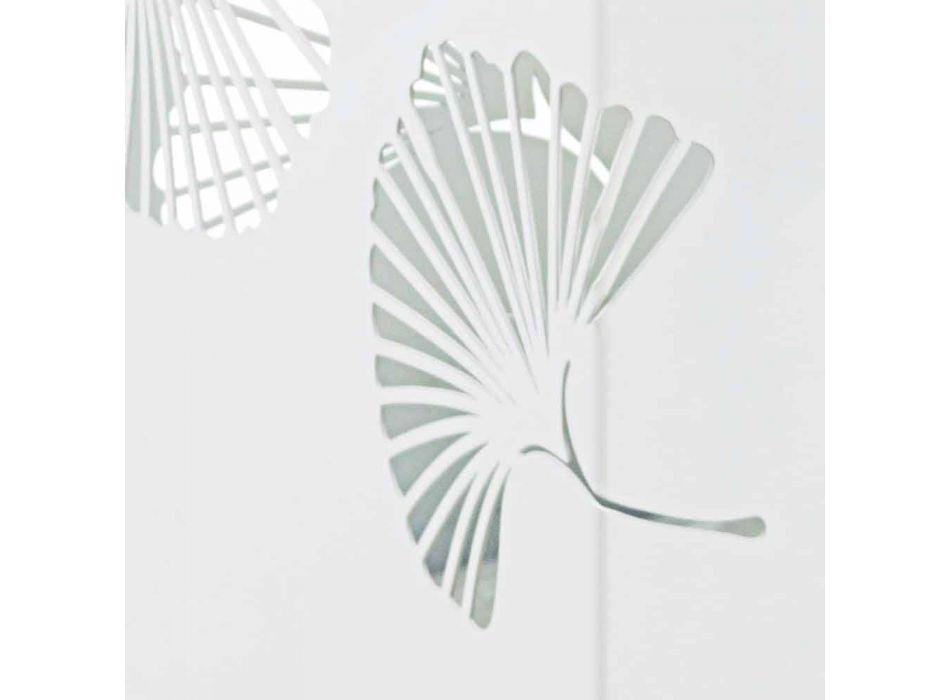 Coppia di Portaombrelli Moderni in Acciaio Verniciato Homemotion - Pioggia