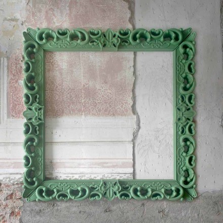 Cornice da parete decorativa colorata Slide Frame Of Love,made Italy