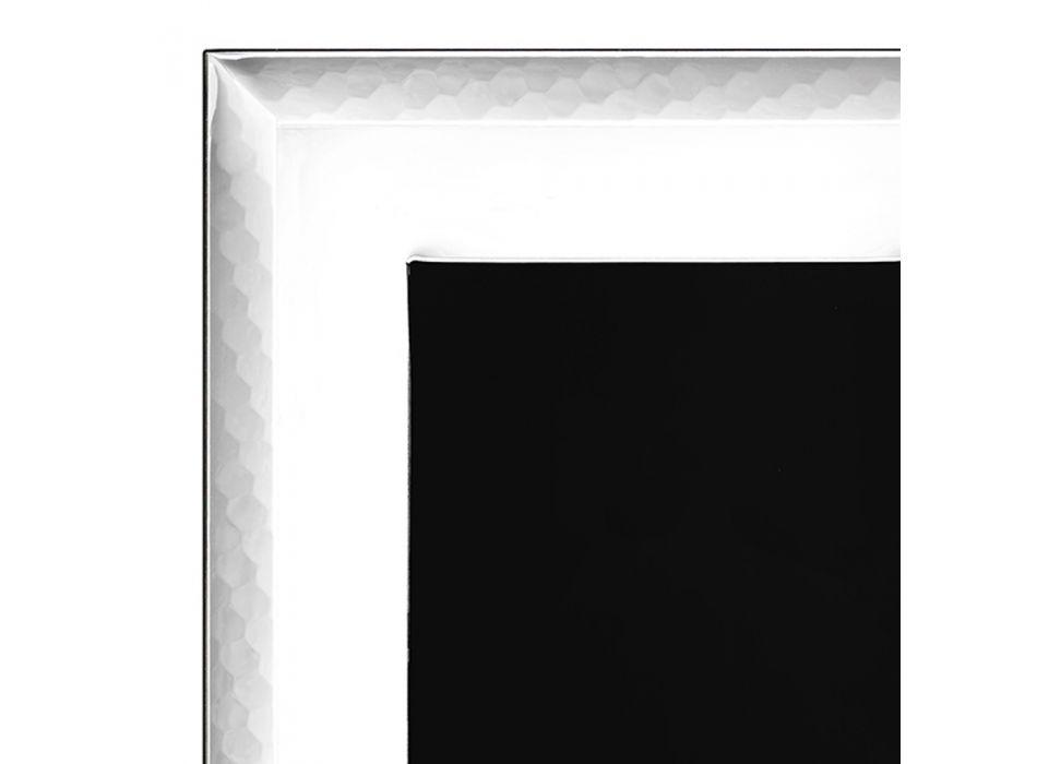 Cornice Portafoto in Argento di Lusso Design Verticale Italiano - Eureka
