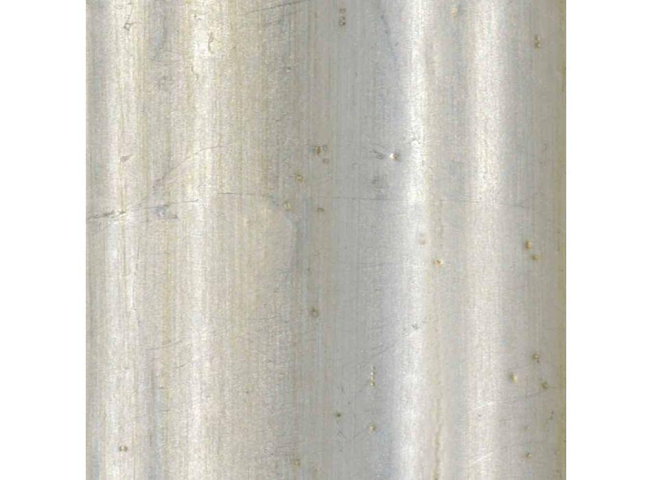 Cornice portaplasma a muro in legno ayus, abete fatta in Italia Giulio