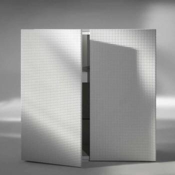 Credenza di design a 2 ante bianca, nera oppure oro modello Flora