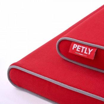 Cuccia per Cani con Bordi Arrotondati e Tessuto Resistente Made in Italy - Essenziale