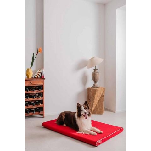 Cuccia per Cani da Interno in Tessuto Sfoderabile Made in Italy - Essenziale
