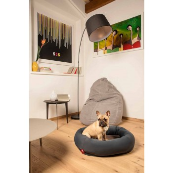 Cuccia per Cani da Interno Sfoderabile in Microfibra Made in Italy - Morbido