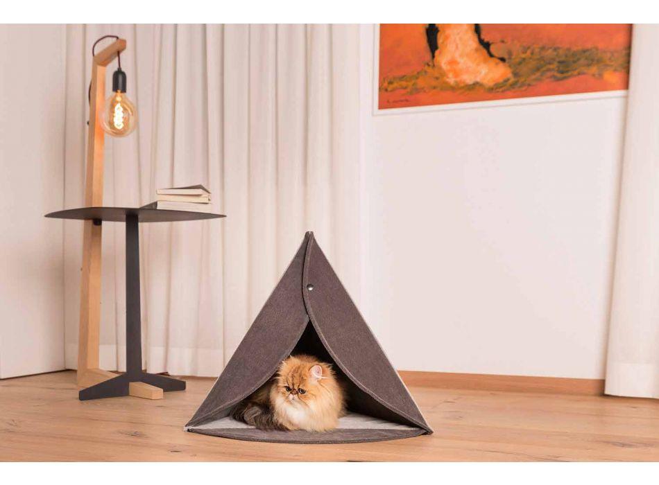 Cuccia per Cani e Gatti da Interno Sfoderabile Made in Italy - Piramide