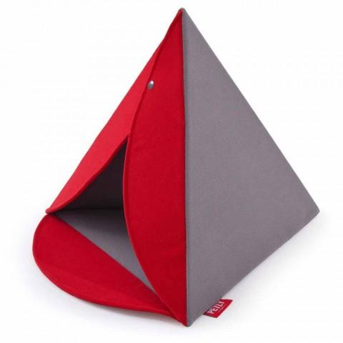 Cuccia per Cani e Gatti di Forma Piramidale Robusta Made in Italy - Piramide
