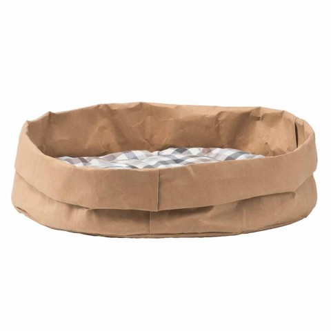 Cuccia per cani e gatti in fibra di cellulosa Tommy, made in Italy
