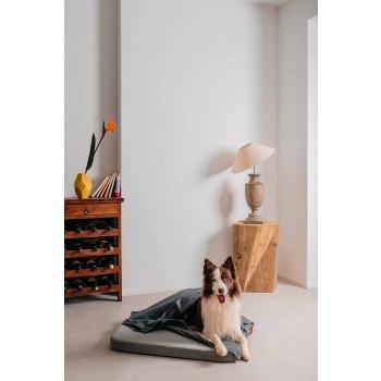 Cuccia per Cani Morbida con Cuscino e Coperta in Pile Made in Italy - Calduccio