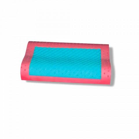 Cuscino a Doppia Onda in Memory Ginseng e Memory AirSense Made in Italy – Tamigi