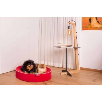 Cuscino per Cani da Interno Sfoderabile in Microfibra Antimacchia - Colosseo