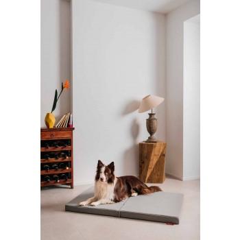 Cuscino per Cani Snodabile con Due Tessuti Estate Inverno Made in Italy - Rigiro