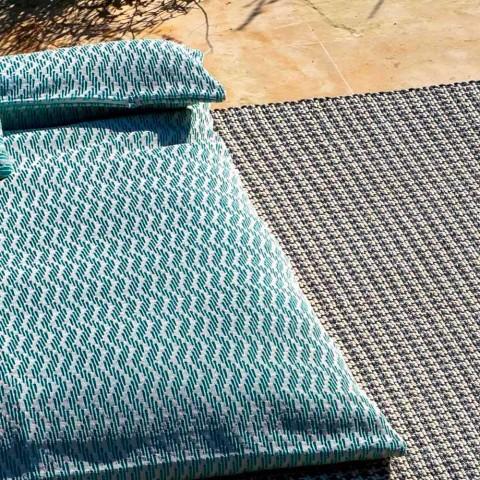 Daybed da Esterno Design, Pouf Letto Singolo 2 Colori Made in Italy - Emanuela