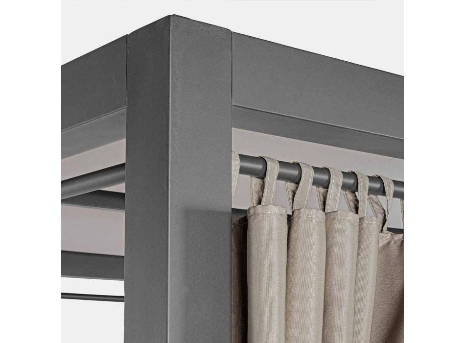 Daybed da Esterno in Textilene e Alluminio con Schienali Reclinabili - Anastasia