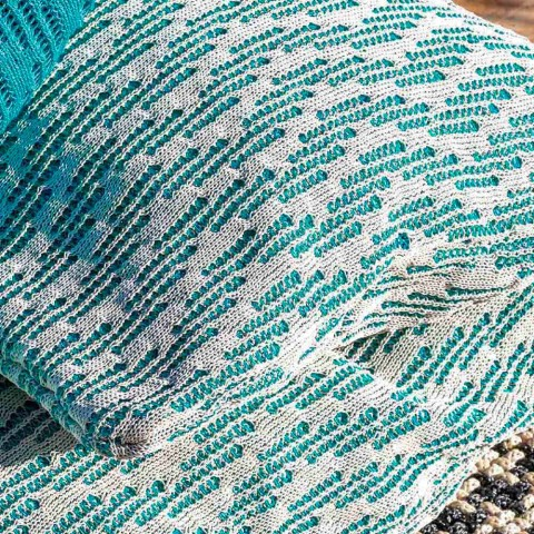 Daybed Design da Esterno Pouf Letto Matrimoniale in PVC, 2 Colori - Emanuela