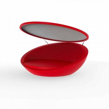 Daybed design moderno Ulm by Vondom, in resina di polietilene