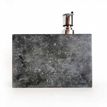 Dispenser per Sapone Liquido con Bicchiere in Marmo Made in Italy - Clik