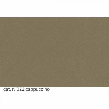 Divano 2 Posti Imbottito e Rivestito in Pelle Made in Italy Pregiato - Centauro