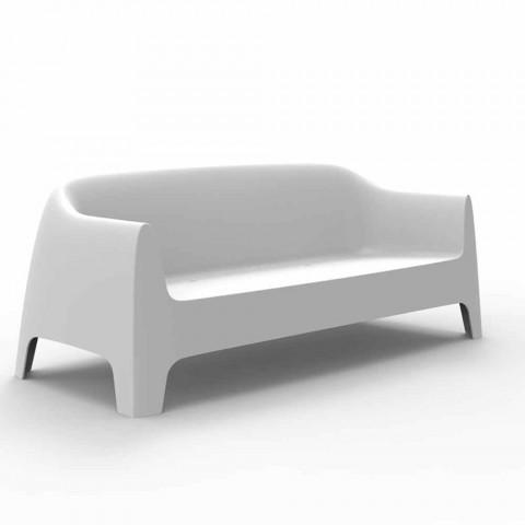 Divano da esterno design moderno Solid by Vondom in polipropilene