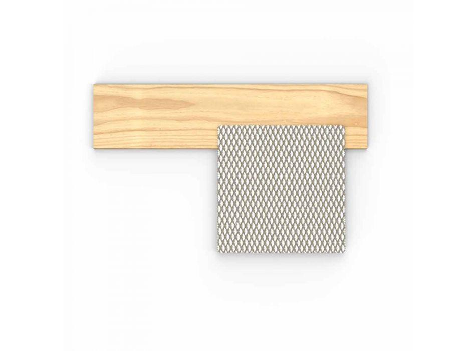 Divano da Esterno Design Modulare con Pouf Sinistro o Destro - Argo by Talenti