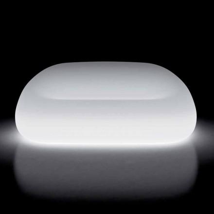 Divano da Esterno Luminoso con Luce LED in Polietilene Made in Italy - Ervin