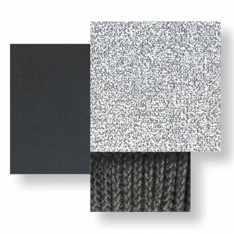 Divano da Giardino 3 Posti in Tessuto Imbottito e Alluminio – Cruise Alu Talenti