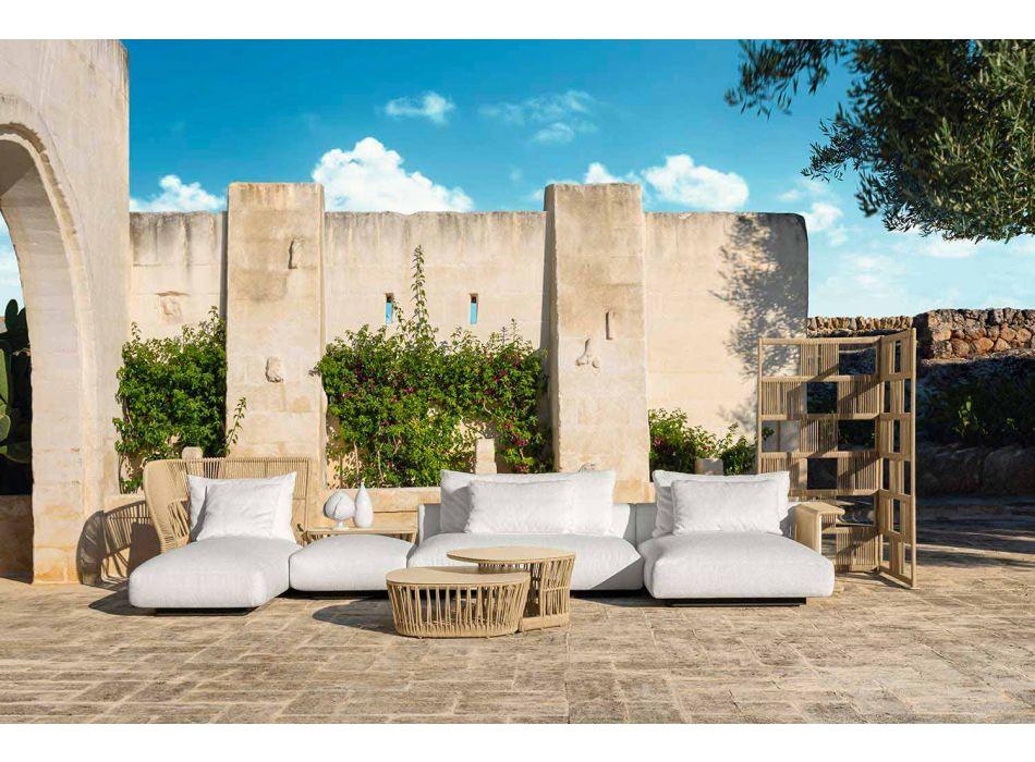 Divano da Giardino di Design Moderno in Tessuto – Cliff Decò by Talenti