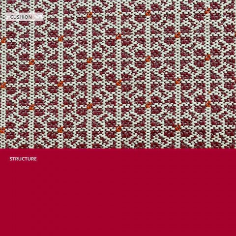 Divano in Metallo per il Giardino, Design Moderno in Vari Colori - Karol