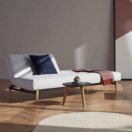 Divano letto di moderno design Splitback by Innovation in tessuto