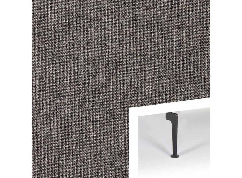 Divano letto di moderno design Zeal by Innovation in tessuto imbottito
