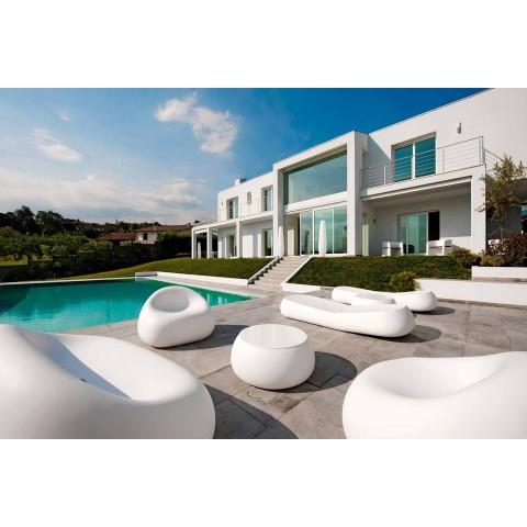 Divano Moderno da Esterno in Polietilene di Design Made in Italy - Ervin