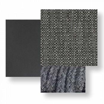 Divano per Esterno a Due Posti in Tessuto e Alluminio – Moon Alu by Talenti
