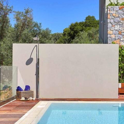 Doccia da Giardino in Acciaio con Rubinetto Temporizzato Made in Italy - Norton