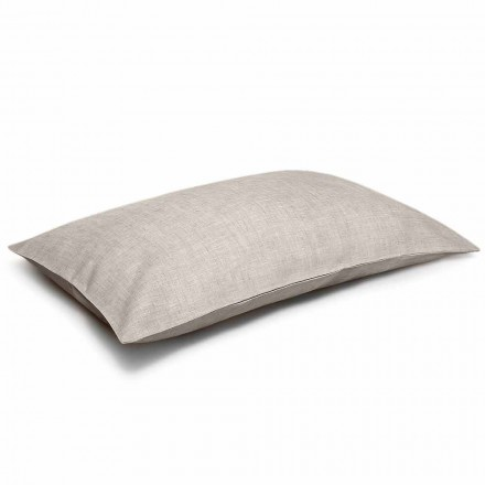 Federa per Cuscino da Letto in Puro Lino Naturale Made in Italy – Blessy