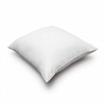 Federa per Cuscino in Puro Lino Bianco Panna Made in Italy – Blessy