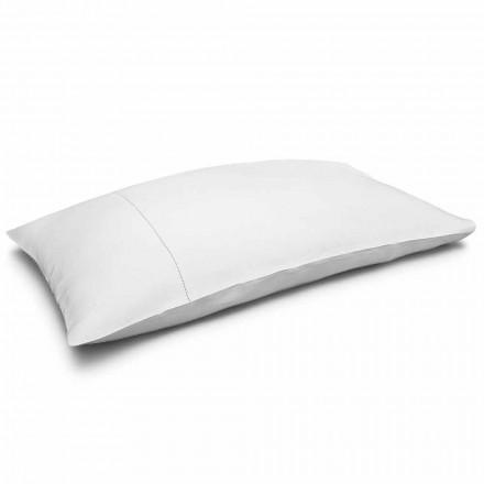 Federa per Cuscino Letto in Puro Lino Bianco Panna Made in Italy – Chiana