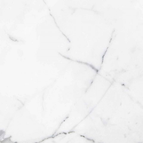 Fermacarte di Design ad Ananas in Marmo Bianco di Carrara Made in Italy - Arta