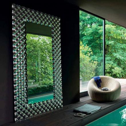 Fiam Italia Pop specchio da muro/terra moderno 216x116cm made in Italy