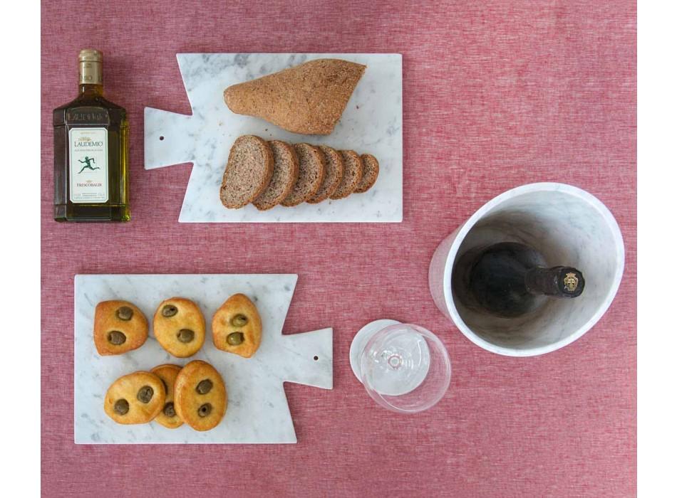 Glacette per Vino o Champagne in Marmo Bianco di Carrara Made in Italy - Ciotti