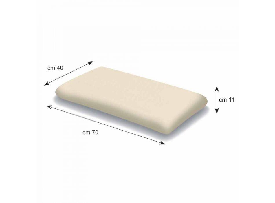Guanciale in Memory Foam Alto 11 cm Prodotto in Italia – Gelsomino