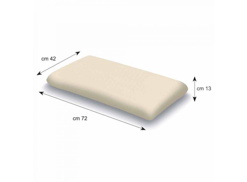 Guanciale in Memory Foam Alto 13 cm Prodotto in Italia – Magnolia