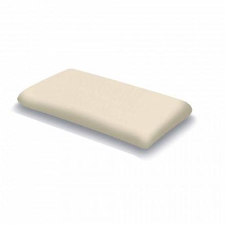 Guanciale in Memory Foam Ergonomico Alto 13 cm Made in Italy, 2 Pezzi – Magnolia