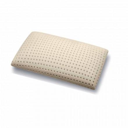 Guanciale in Memory Foam Forato Alto 15 cm Prodotto in Italia, 2 Pezzi – Tolosa
