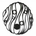 Installazione a Muro Design Moderno in Ceramica Traforata Made in Italy - Desta