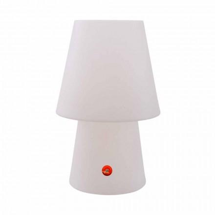 Lampada a LED Ricaricabile in Polietilene per Interno o Esterno - Fungostar
