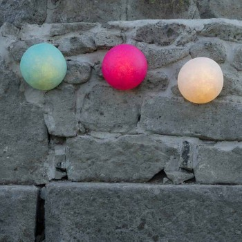 Lampada a muro da esterno In-es.artdesign Button Out in nebulite color