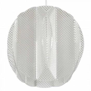 Lampada a sospensione 2 luci in metacrilato,diametro 22cm, Desire