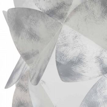 Lampada a sospensione 3 luci nuance grigio, diametro 63 cm,Kaly