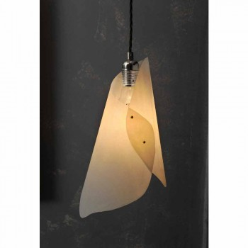 Lampada a sospensione a 2 luci, design moderno, Chrome