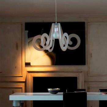 Lampada a sospensione design in metacrilato diaemtro 75 cm Rania