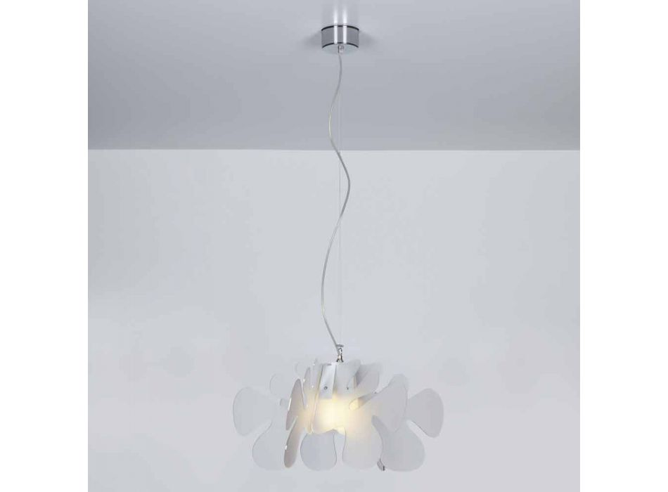 Lampada a sospensione design in metacrilato,L.55 x P.55cm, Debora